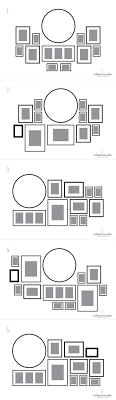 chic large wall decorations living room: layout for my gallery wall i started with a large round clock decorating