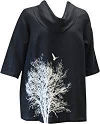 <b>Scoop Neck</b> EtLois Contemporary <b>Colorful Fashion</b> Tunic 3/4 Sleeve ...