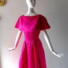 Vtg1950s Summer Dress <b>Suit Montego</b> Red Floral Print Jacket ...
