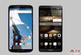 Phone Comparisons: Google Nexus 6 vs Huawei Ascend Mate 7 ...