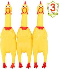 LEGEND SANDY Screaming Chicken,Yellow Rubber ... - Amazon.com