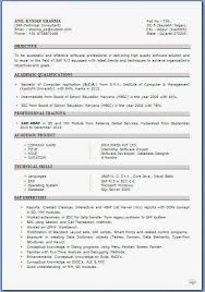 Simple  amp  Elegant Blank Resume Template