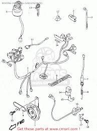 suzuki gn v e e e e e e wiring harness wiring harness gn125v w x schematic