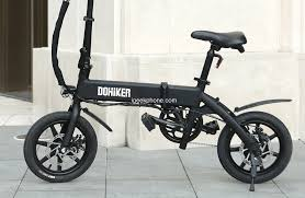 Get <b>DOHIKER Folding Electric Bicycle</b> at $499.00 From Gearbest ...
