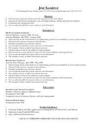 example basic resume   templateexample basic resume