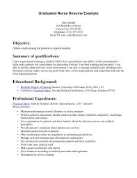 graduate nurse resume graduate nurse sample resumes template graduate nurse resume graduate nurse sample resumes