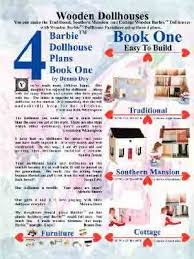barbie dollhouse plans barbie doll furniture plans