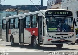 Resultado de imagem para Ônibus do bairro da ribeira