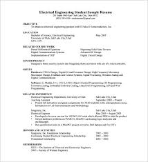 resume template for fresher –    free word  excel  pdf format    electrical engineer fresher resume pdf download
