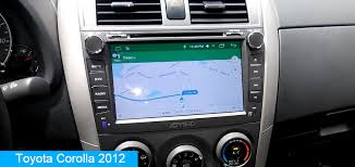 Toyota Corolla Android Car Audio System Replacement - Joying