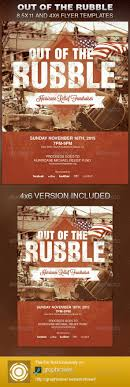 78 bilder om church flyers på marknadsföring the out of the rubble church flyer template is exclusively on graphicriver it can