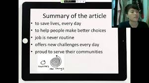 english oral presentation alison five reasons to be police english 8 oral presentation alison five reasons to be police officer 20160403