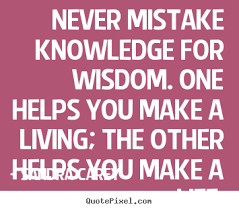 Knowledge Quotes And Sayings. QuotesGram via Relatably.com