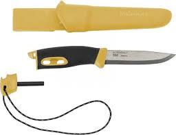 <b>Нож</b> туристический <b>Morakniv Companion Spark</b> Yellow ...