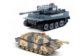 <b>Радиоуправляемый танковый бой Huan</b> QI Tiger vs Leopard ...