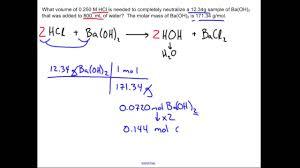 neutralization reaction chemistry sample problem neutralization reaction chemistry sample problem