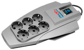Купить Сетевой фильтр <b>Pilot XPro</b>, <b>серый</b>, 6 розеток, 7 м, с/з, 10А ...
