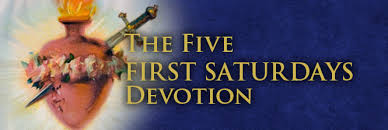 Image result for Our Lady of Fatima 5 first saturdays