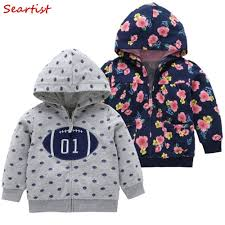 <b>Seartist</b> 2018 Girls <b>Boys</b> Hooded <b>Sweatshirt</b> Newborn Floral Zipper ...