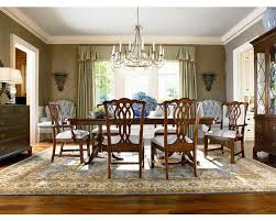 Thomasville Dining Room Chairs Double Pedestal Table Dining Room Furniture Thomasville