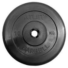 «Блин <b>MB Barbell</b> d31 мм 10kg Black» — Свободные веса ...