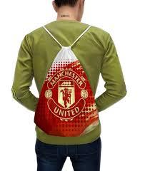 """Рюкзак-мешок с полной запечаткой """"<b>Манчестер Юнайтед</b> ..."""