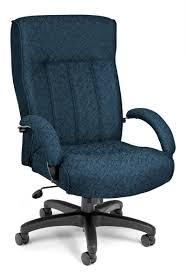 ofm blue high back big and tall executive office chair big office chairs executive office chairs