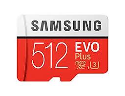 <b>Samsung</b> MicroSDXC <b>EVO Plus Memory</b> Card w/Adapter 512GB ...