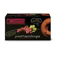 Wine must cookies with <b>100</b>% <b>natural</b> must <b>100g</b> Tsanos