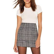 Women's Plaid <b>Skirt</b>: Amazon.com