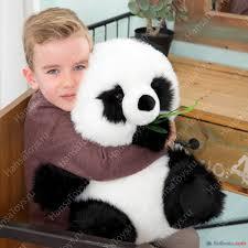Реалистичная <b>мягкая игрушка</b> Панда, 43 см, <b>Hansa Creation</b> в ...