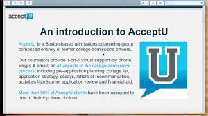 inside the college admissions office on vimeo