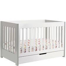 babyletto mercer babyletto mercer crib grey  white mercerg