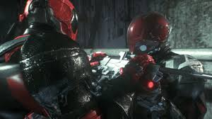 Batman: Arkham Knight - Deadpool vs Red Hood - YouTube