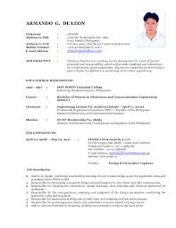 proforma of cv example resume format for ojt sample latest cover cover letter proforma of cv example resume format for ojt sample latestsample resume wording
