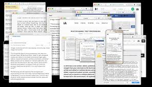 multichannel text processing ia in the classic era of word processing text was born between ms word and a printer today it is written and edited on multiple devices and apps