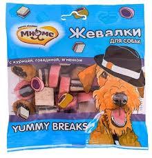 """<b>Мнямс лакомство для собак</b> """"Жевалки YUMMY BREAKS"""" с ..."""
