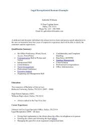 receptionist resume template free medical receptionist    receptionist