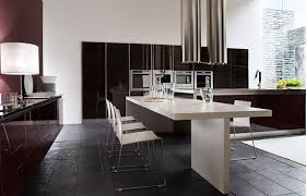 wood kitchen table beautiful: beautiful kitchens with dining table beautiful minimalist kitchens with dining tables