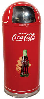 kitchen items store: coca cola kitchen items  coca cola metal trash can w