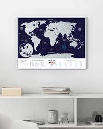 <b>Скретч Карта Мира</b> Travel Map Holiday - <b>1DEA</b>.<b>me</b>
