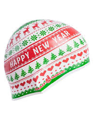 Силиконовая шапочка HAPPY <b>NEW YEAR</b> Mad Wave 6970925 в ...