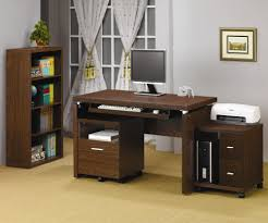 Computer Desk Cabinet Wood Computer Desk With File Cabinet Best Home Furniture Decoration
