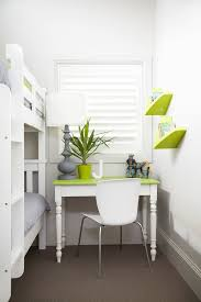 interiors trendy gender neutral kids room photo in london with white walls and carpet space saver bedroom bedroom photo 4 space saver