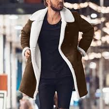 top 8 most popular <b>men</b> long jackets fashion <b>turndown collar</b> jackets ...