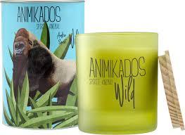 <b>Свеча ароматическая Ambientair Gorilla</b> - амбровый Wild 40 ч