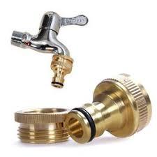 1/2 Or 3/4 Inch Brass Garden Faucet Water Hose Tap ... - Vova