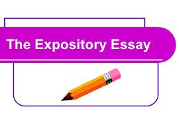 expository essaythe expository essay
