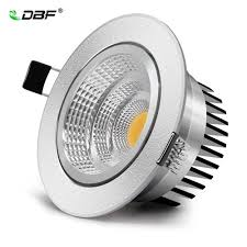 [DBF]Angle Adjustable Silver Body <b>Dimmable LED Recessed</b> ...