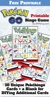 pokémon go pokébingo printable bingo game kid i ve made some pokécentric items in anticipation of pokémon gopocalypse when kids ask